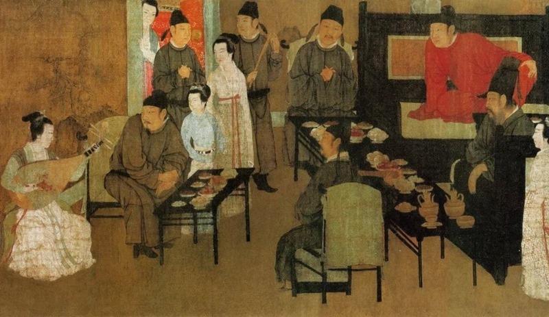 韩熙载夜宴图1